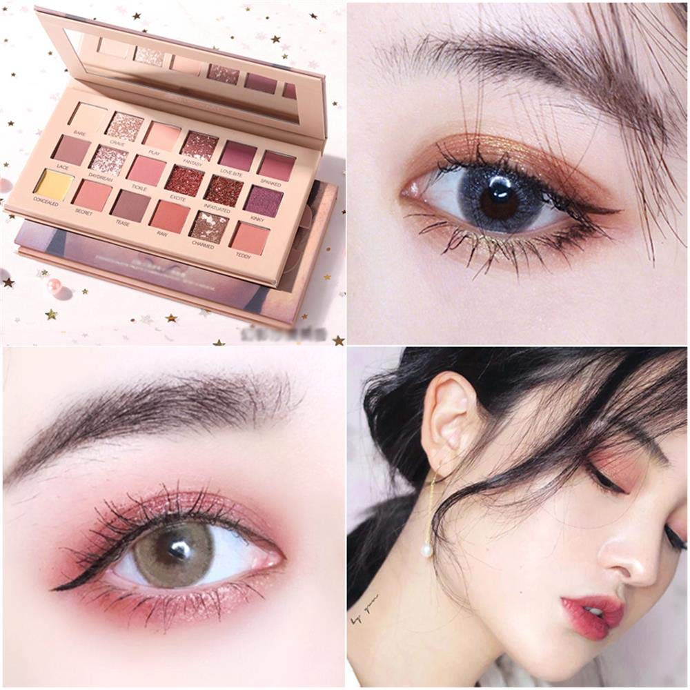 18 Colors Eyeshadow Palette Multi Reflective Shimmer Matte Glitter Pearls Valentines Gifts Eye Shadow for Women