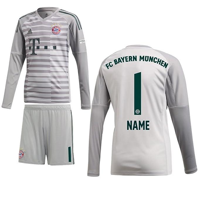 adidas FCB FC Bayern München Heim Torwartset 2018 2019 Spieler Name