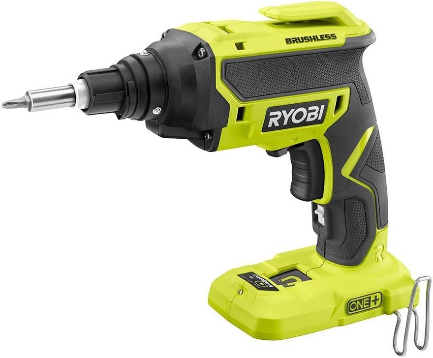 Ryobi Screw Gun 18-Volt ONE+ Brushless Drywall Screw Gun