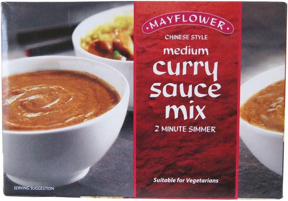 Mayflower Medium Curry Sauce Mix Powder 255 G