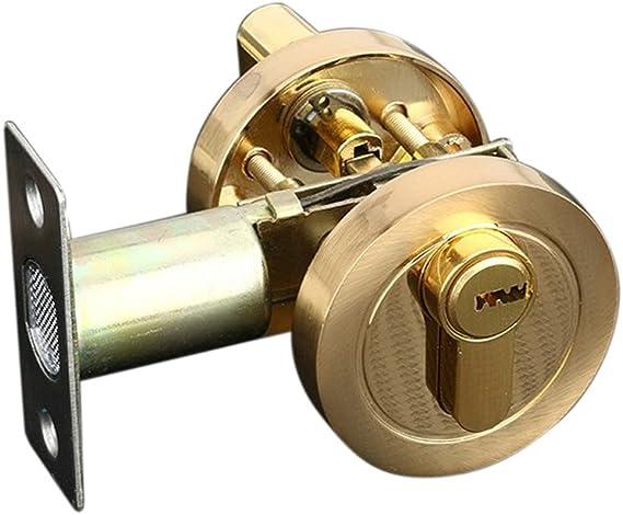 magideal latón candado Puerta Cerradura de cilindro para Hogar ...