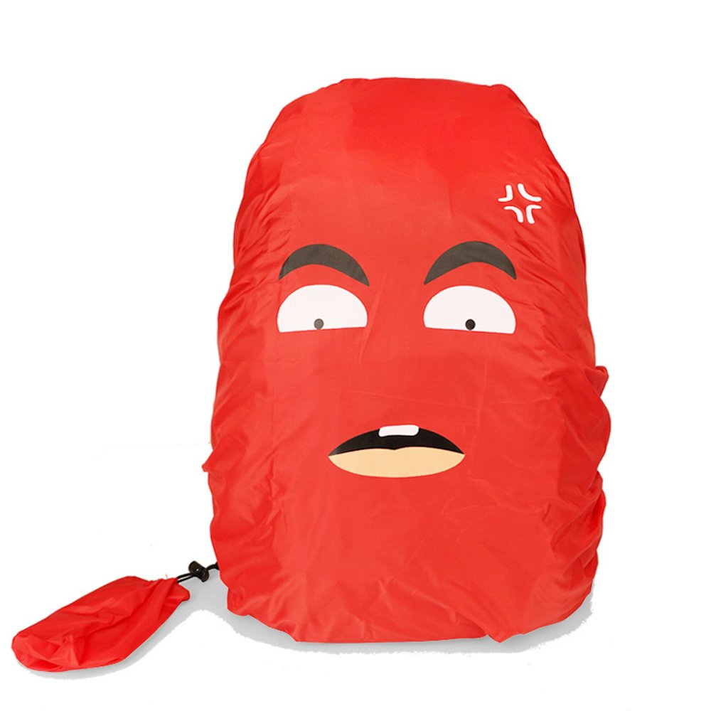 Bcakpack Cover - VERTTEE Universal Foldable Outdoor Camping Hiking Waterproof Dustproof Travel Backpack Rucksack Rain Cover Protector 30-45L