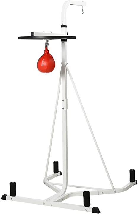 Free-Standing Speed Bag Platform Punch Bag Boxing Fitness Station Stand