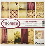 Reminisce TWIN-200 Winery Collection Kit, 12'' by 12'', Multicolor
