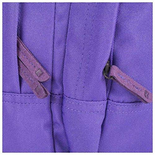 caison Fashion Colorful portátil Hombre Mujeres Bolso Mochila poliéster correa Messenger Bolsa Travel lässige Pocket negro morado