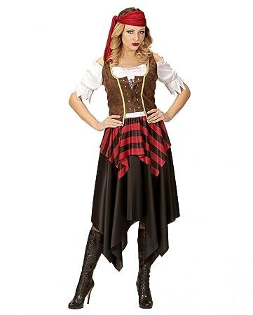 2de79b1cdd3 Horror-Shop Freibeuterin Kostüm für Damen