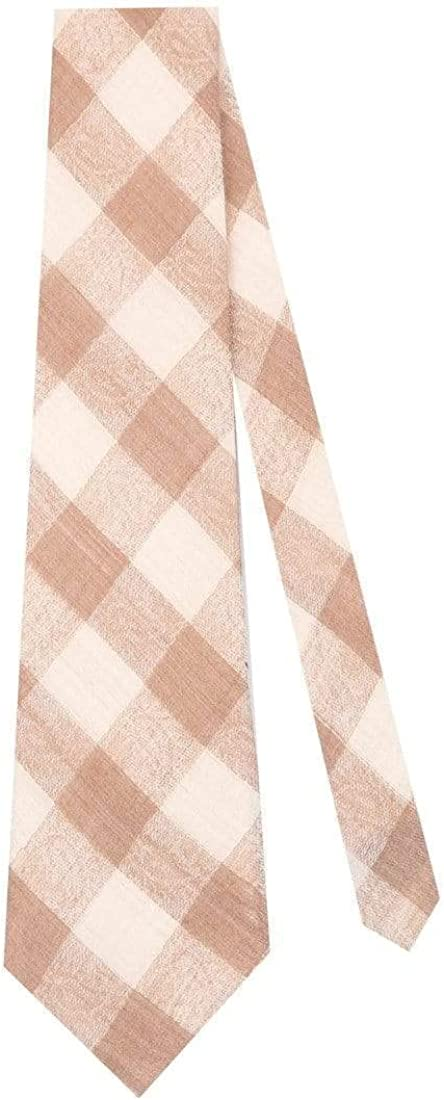 Free Size Extra fine Ties for Men Soft and Luxurious Checkered Design Pashtush Mens Jacquard Necktie