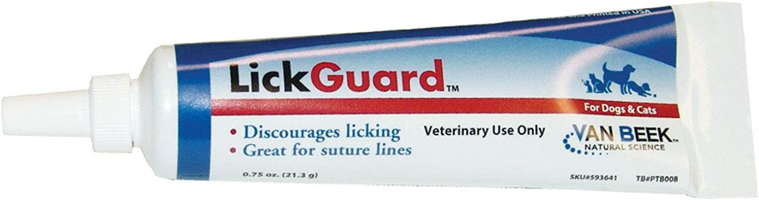 LickGuard Ointment for Dogs and Cats, 0.75 oz : Pet Medications : Pet Supplies