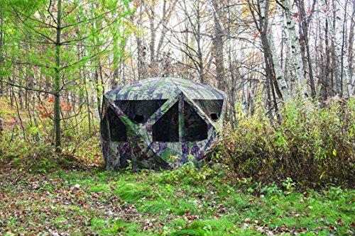 Barronett Blinds PT550BW Pentagon Pop Up Portable Hunting Blind, Bloodtrail Backwoods Camo by Barronett Blinds (Image #2)