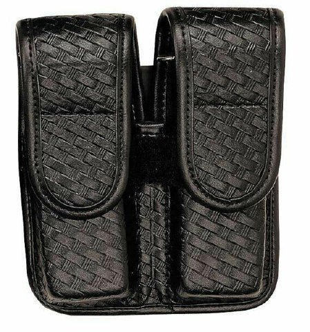 bianchi-accumold-elite-7902-double-magazine-pouch-basketweave-with-chrome-snap-25335-beretta-92-96f-