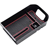 EDBETOS Center Console Organizer Tray Compatible with Toyota RAV4 2019 2020 ABS Armrest Glove Box Secondary Storage…
