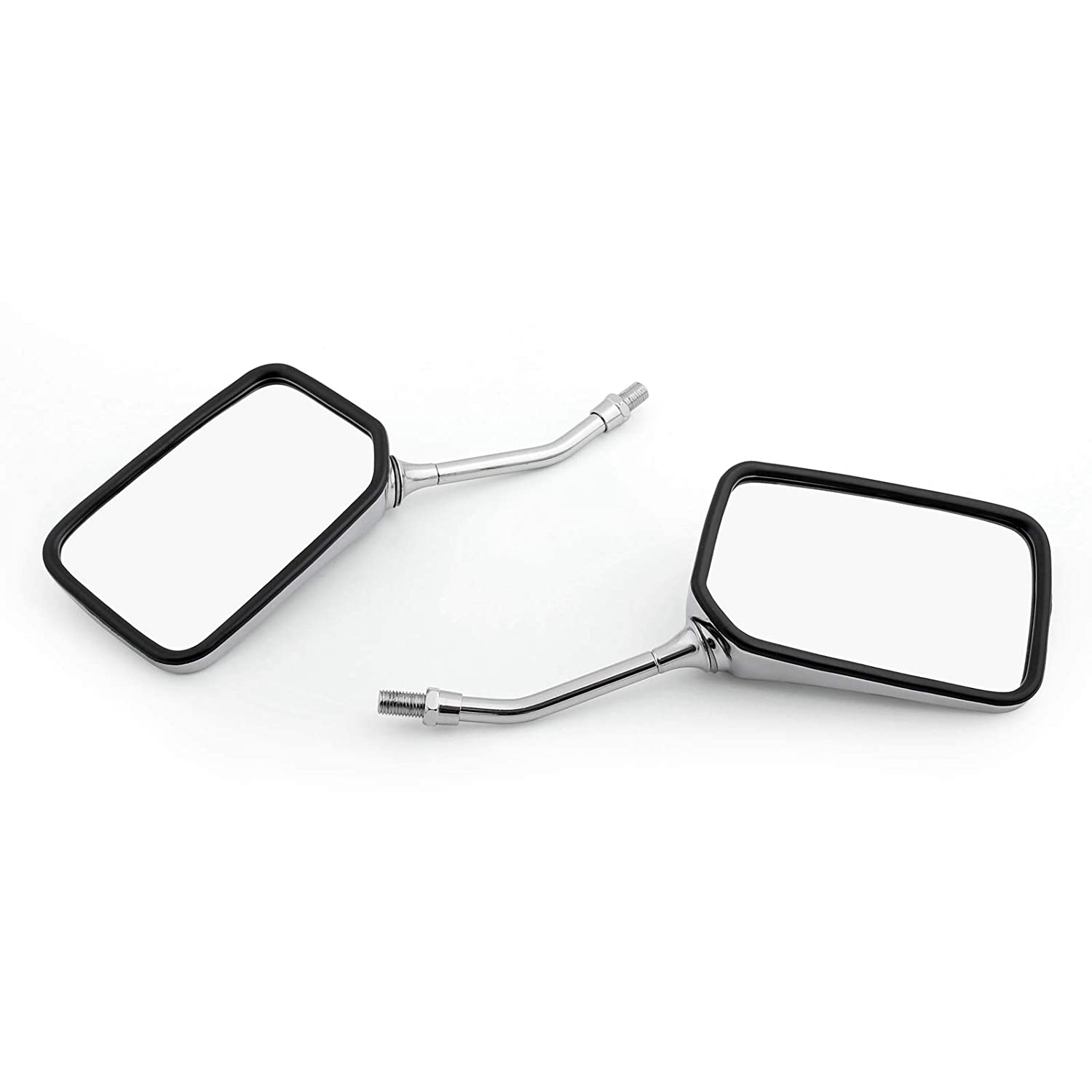 Topteng Pair Motorcycle Rearview Mirror for Hon-da CA125 CMX250 Rebel CM125 VT125 Shadow