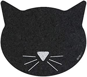 ORE Pet Recycled Rubber Cat Face Placemat