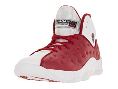 954b3801ed9c Nike Jordan Men s Jordan Jumpman Team II Gym Red Gym Red White Black
