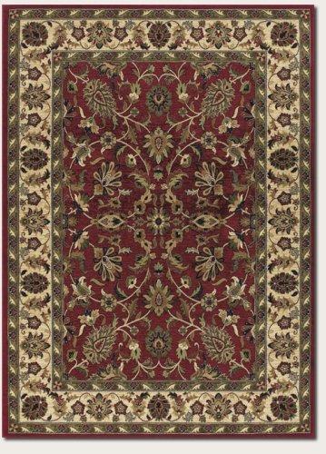 Couristan 2867/0006 Anatolia Antique Herati Area Rugs, 9-Feet 8-Inch by 13-Feet 1-Inch, Cream