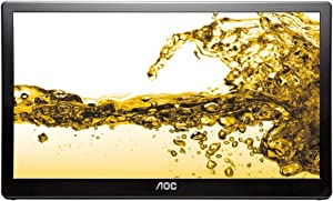 AOC E1659FWU USB Powered LCD Monitor 16