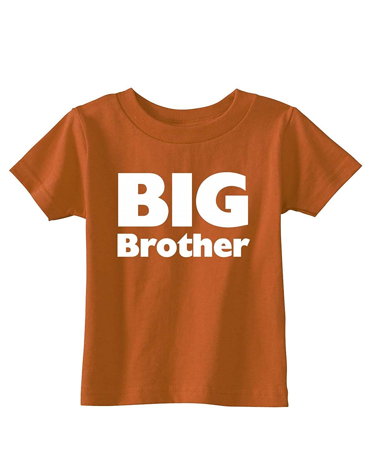 Big Brother on Infant /& Toddler Cotton T-Shirt in 21 Colors
