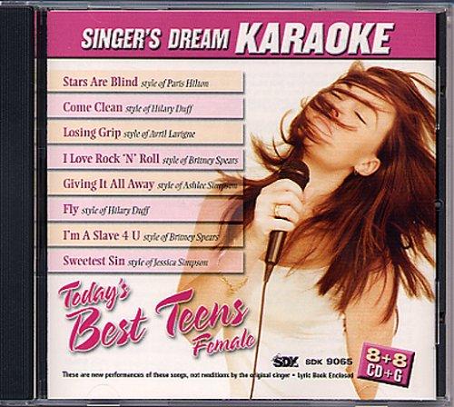 Todays Best Teens Female   Karaoke Cdg