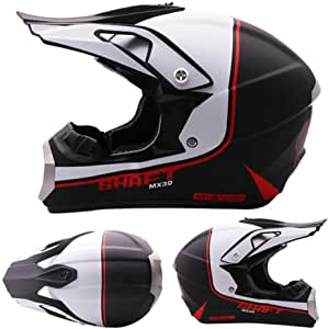 Amazon.es: Aopoy Adulto Casco de Moto Motocross Cara Completa ...