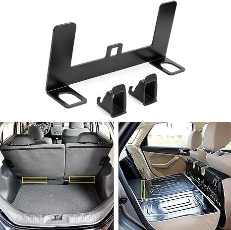 KKmoon Kit de fijaci/ón de anclaje de asiento de coche universal para conector de cintur/ón ISOFIX ZL-2023