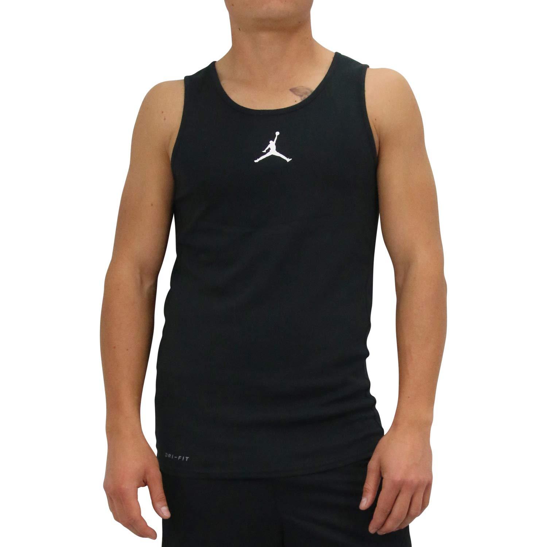 a1f7aaf9192 Jordan Rise Basketball Camiseta Tirantes (Tank Top) Hombre Negro XS  (X-Small)  Amazon.es  Ropa y accesorios