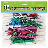 Fancy Fringed Party Squawkers, 30ct
