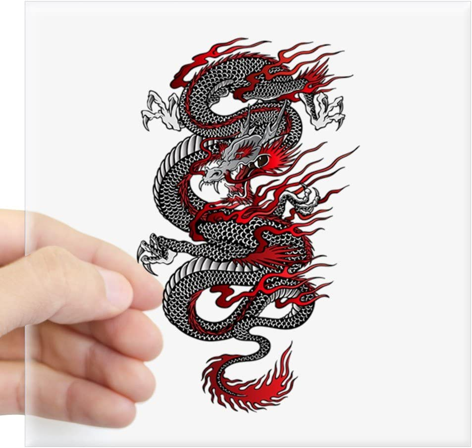 Chinese Dragon East Asian Dragon Decal Sticker Car Vinyl pick size color b