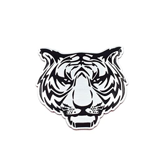 Amazon Com Shuohu 3d Cool Tiger Lion Sticker Car Sign Eagle Pattern