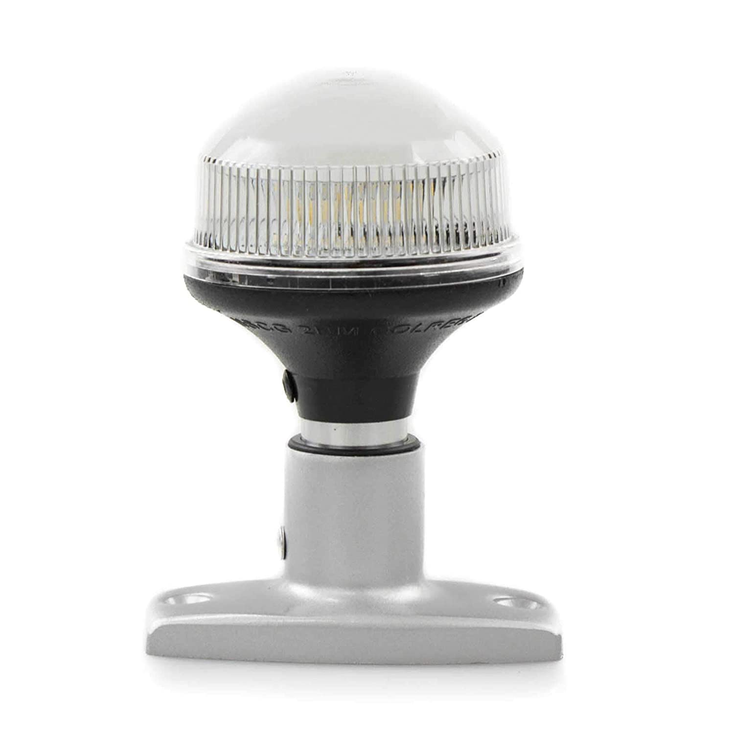 "White 4/"" FO-2874 Five Oceans Marine Boat All Round Anchor 360 Degree LED Navigation Light"