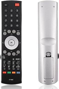 Zerone Mando a Distancia Universal para Toshiba CT-8003, Smart TV Repuesto Mando a Distancia para Toshiba CT-90314 37XV500A 42XV500A 46XV500A Smart TV: Amazon.es: Electrónica
