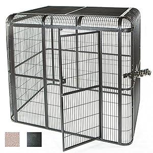 2. A&E Cage Co. Walk-in Aviary