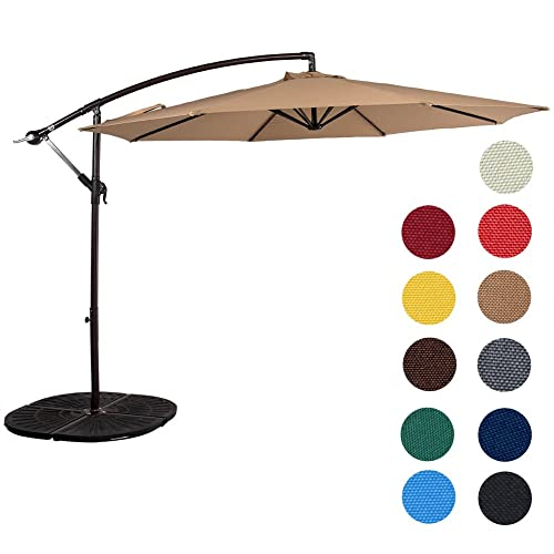 Sunset Outdoor Aluminum Offset Umbrella
