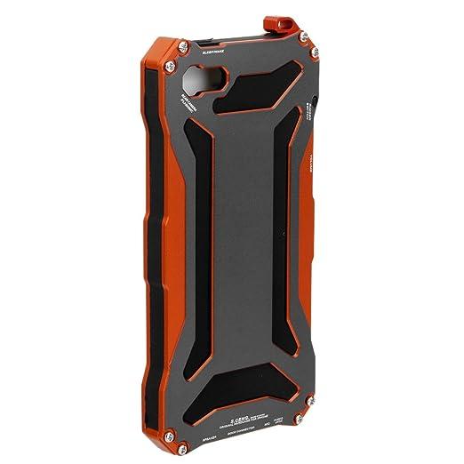 2 opinioni per MagiDeal Custodia Cover Caso di Vetro Di Alluminio Impermeabile Antiurto Per