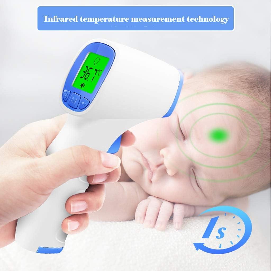 Kinder HHGO Baby-Thermometer F/ür Fieber Stirn Ohren,2 In 1,Ber/ührungsloses Medizinisches Infrarot Heimthermometer Mit Zweifarbiger Hintergrundbeleuchtungf/ür Erwachsene S/äuglinge Neugeborene