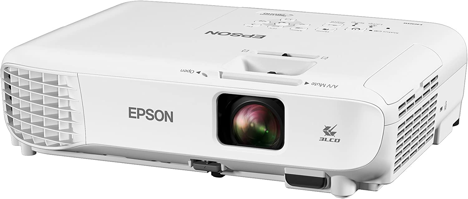 Epson Home Cinema 760HD 3,300 lumens color brightness (color light output) 3,300 lumens white brightness (white light output) HDMI built-in speakers ...