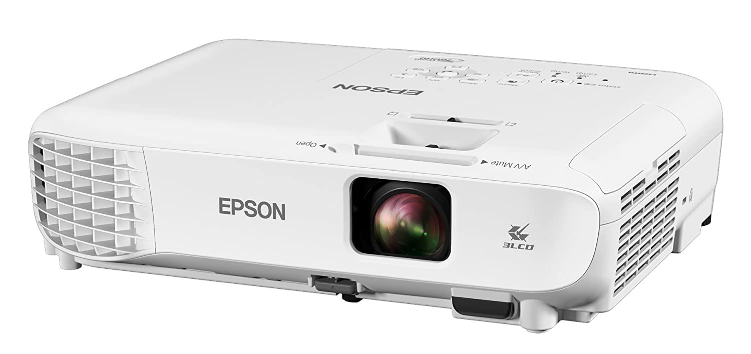 Epson Home Cinema 760HD 3,300 lumens color brightness (color light output) 3,300 lumens white brightness (white light output) HDMI built-in speakers 3LCD projector