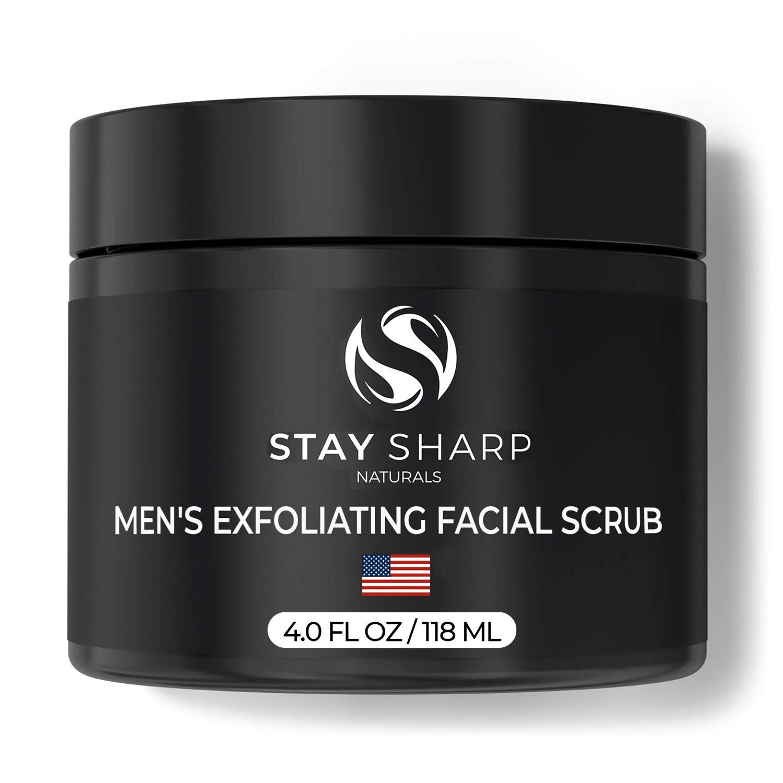 Amazon Com Exfoliating Face Scrub For Men 4 Oz Luxury Daily