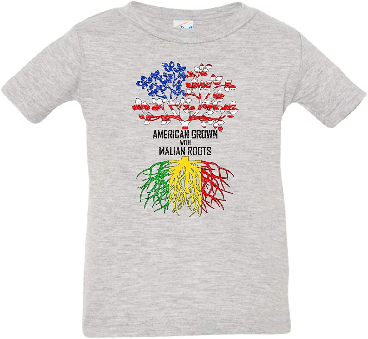 Tenacitee Babys American Grown with Malian Roots Shirt