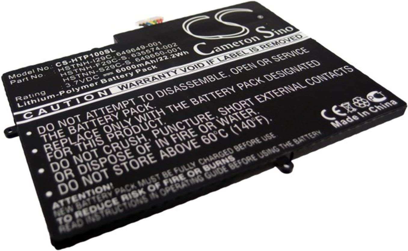 635574-001 6000mAh Battery for HP TouchPad 10 635574-002 649649-001