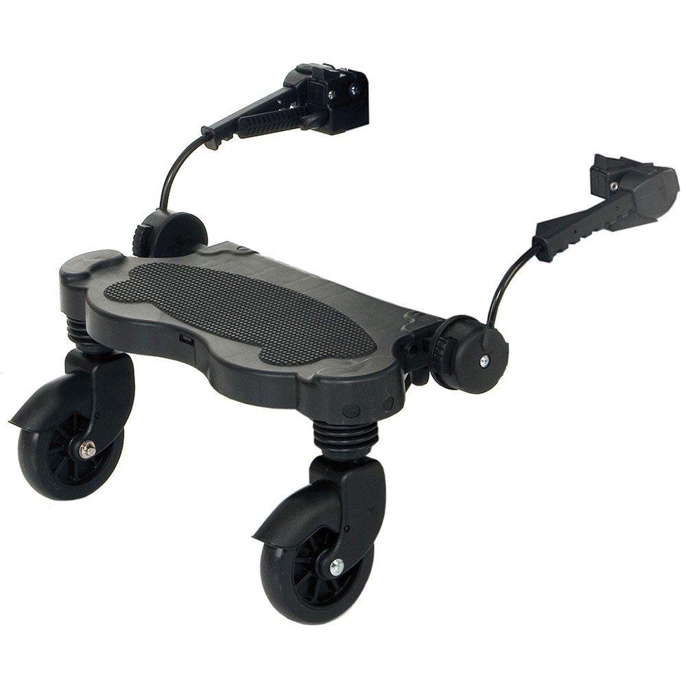 noir ABC DESIGN La planche /à poussette buggyboard Kiddy Ride On pour le mod/èle TURBO accessoires pour poussette planche pour poussette
