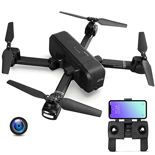 E-kinds Mi Drone, WiFi FPV con cámara 4K 30Fps 1080P Gimbal 3-Axis ...