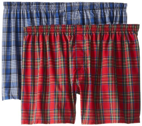 2-Pack Ultimate Big Tartan Boxers, Assorted, 3X-Large ()