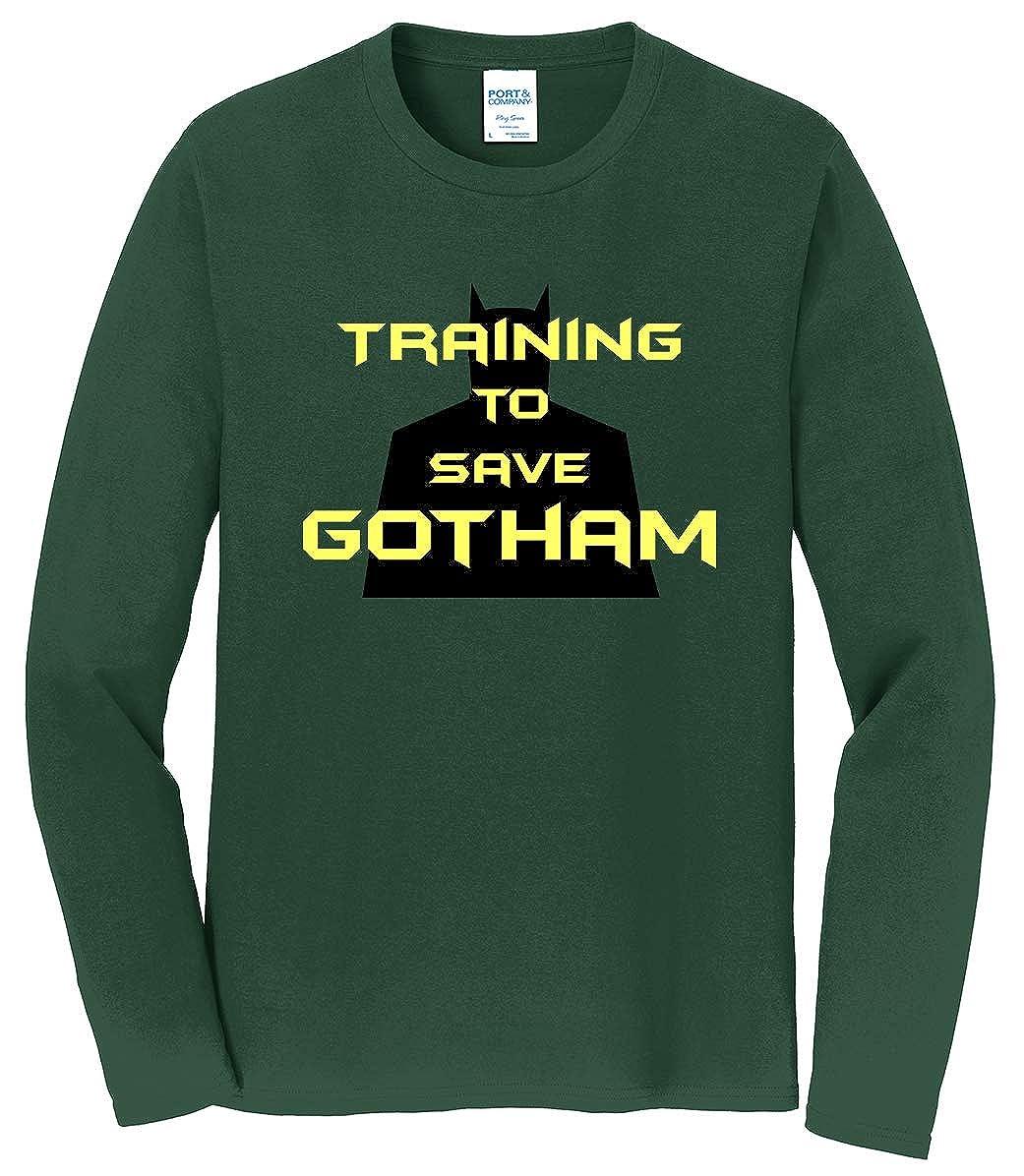 Tenacitee Mens Training to Save Gotham T-Shirt