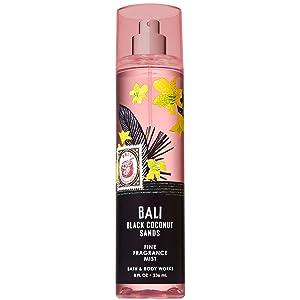 Bath and Body Works BALI - BLACK COCONUT SANDS Fine Fragrance Mist 8 Fluid Ounce (2019 Edition)