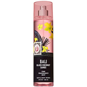 Bath and Body Works BALI - BLACK COCONUT SANDS Fine Fragrance Mist 8 Fluid  Ounce