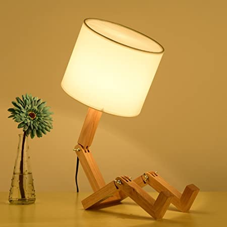 Home#gift Lámpara De Mesa Minimalista Escandinava Lámpara De ...