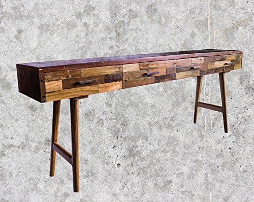 Mienloco Vintage Teca – Cómoda, gabinete, aparador, Armario, Mesa ...