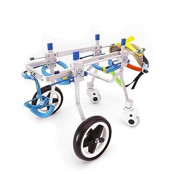 La silla de ruedas para perros, el coche de entrenamiento para rehabilitación de perros,