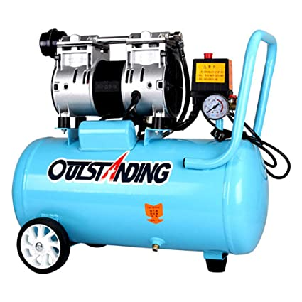 Amazon.com: TOPCHANCES 800W Portable 30L Silent Noiseless Oil-free Oilless Air Pump Air Compressor for Woodworking Spray Painting Oilless Piston Home ...