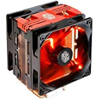 Cooler Master Hyper 212 LED Turbo Red Cover Ventilateurs de processeur '4 Heatpipes, 2x ventilateurs PWM 120mm, LED Rouge' RR-212TR-16PR-R1